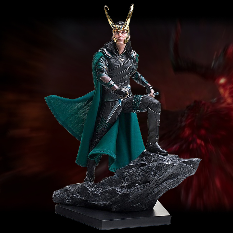 Loki Figure Thor Ragnarokr Battle scene Infinity War Marvel
