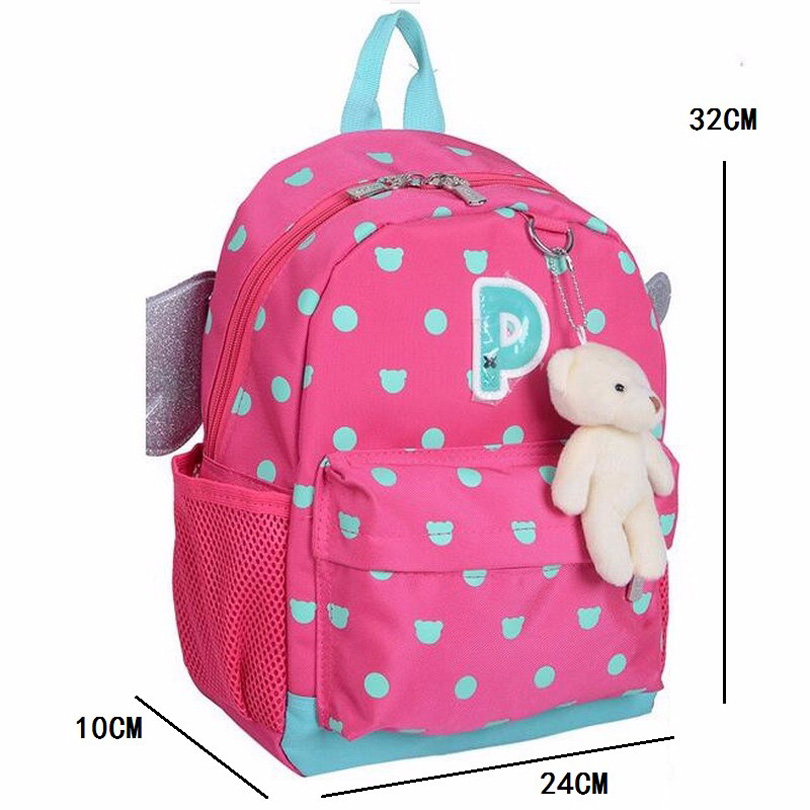Designer Famous Brands Angel 3 Pairs Wings kids Cartoon Backpacks ...