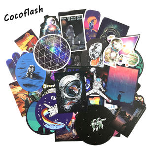 COCOFLASH Stickers for Skateboard Laptop Car