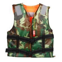 Adult Swimming Life Jacket Vest Foam Boating Ski Fishing Drifting Safety Jackets Colete Salva Vidas With Whistle Prevention(China)