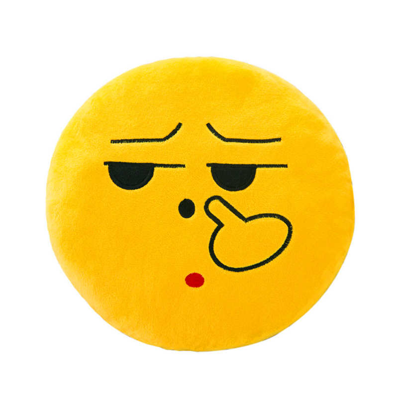Christmas Emoji.Us 0 81 37 Off 32cm Soft Emoji Smiley Emoticon Round Cushion Pillow Stuffed Plush Toy Doll Christmas Emoji Cushion 2o19 F In Pillow Case From Home