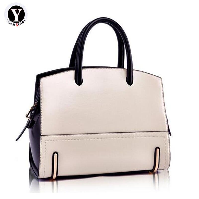 Yirenfang Genuine Leather Bags For Women Messenger Shoulder Bags 2018 Big High Quality Luxury Handbags Women Bags Designer