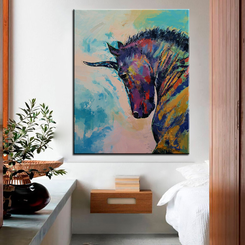 Online Get Cheap Framed Wall Art Unicorn -Aliexpress Alibaba - framed wall art for living room