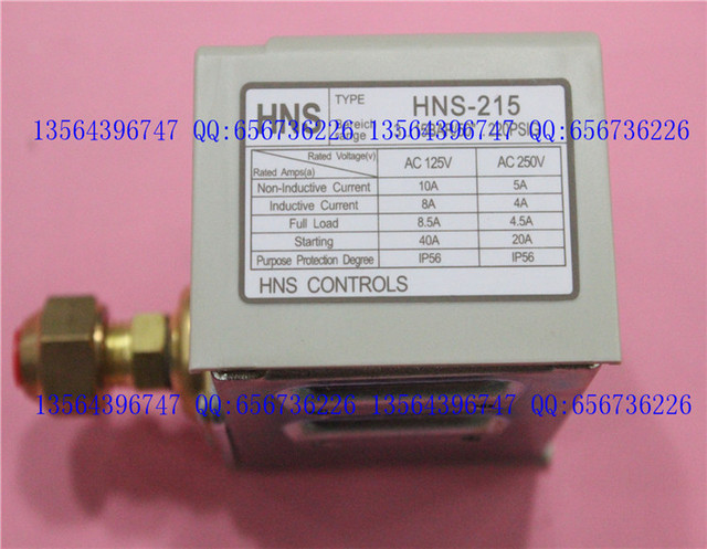 US $28 0 |3s pressure switch single electro controller HNS 215 Brand new  original authentic Korea High and low voltage protection-in Switches from