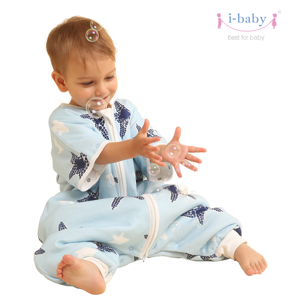 i-baby Swaddling Baby Sleeping Bag Star Fish Baby Sleepwear Constant Temperature Wrap Baby Bedding