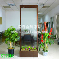 Antique water fountains aluminum with bronze powder coating frame water features water curtain fountain falls