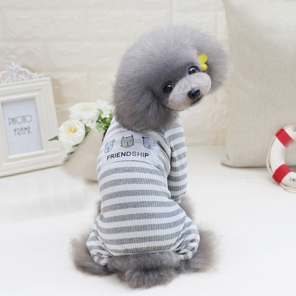 Small Dogs Costume Clothes For Little Dogs Overalls Four Leg Home Service Style Pet Dogs Coat Small Puppy Dogs Bib Clothing