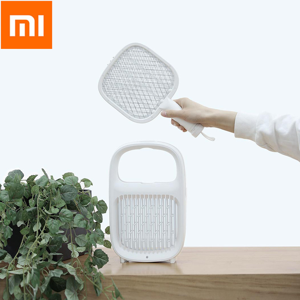 11 Yeelight Electric Mosquito Swatter Layers Mesh Electric Handheld Mosquito Killer Insect Fly Bug Mosquito Swatter Killer