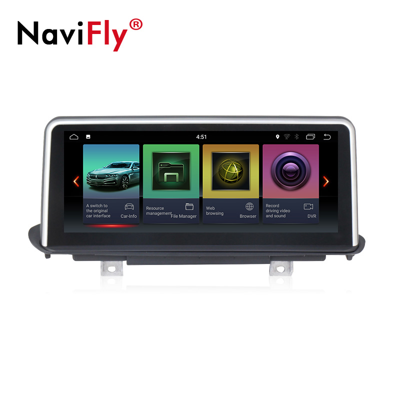 New! 2GB+32GB pure android car dvd multimedia gps navigation system player for <font><b>BMW</b></font> <font><b>X5</b></font> <font><b>E70</b></font>/X6 E71 (2007-2013) CCC/CIC image