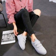 MFU22 горячая Распродажа спортивная обувь мотыги круглый носок Повседневная Белый