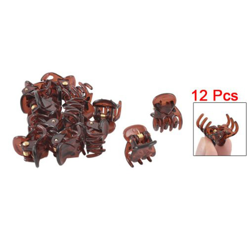 NEW Hot Sale 12Pcs Ladies Girls 39 Spring Joint Plastic Mini Cute Hair Clamps Clips in Women 39 s Hair Accessories from Apparel Accessories