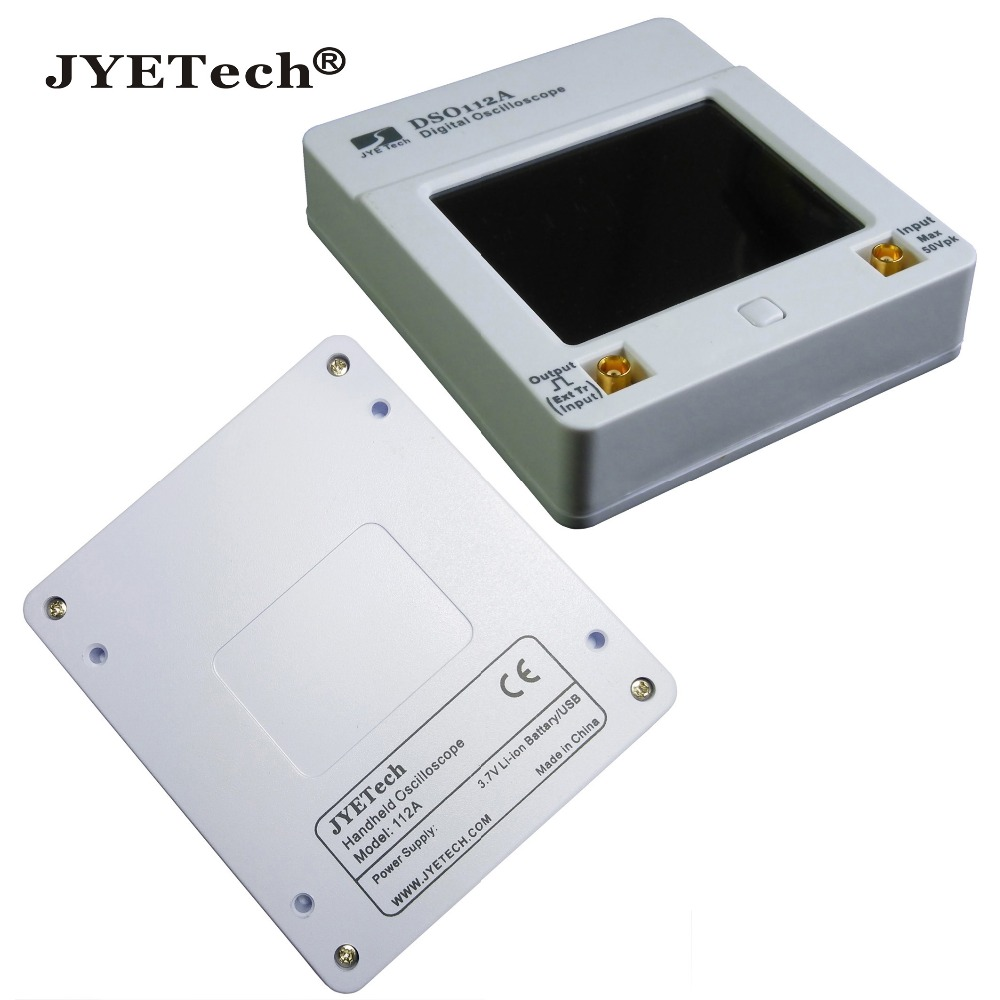 DSO112A Touch Screen 2.4inch TFT Mini Digital Oscilloscope Pocket OSC 2MHz
