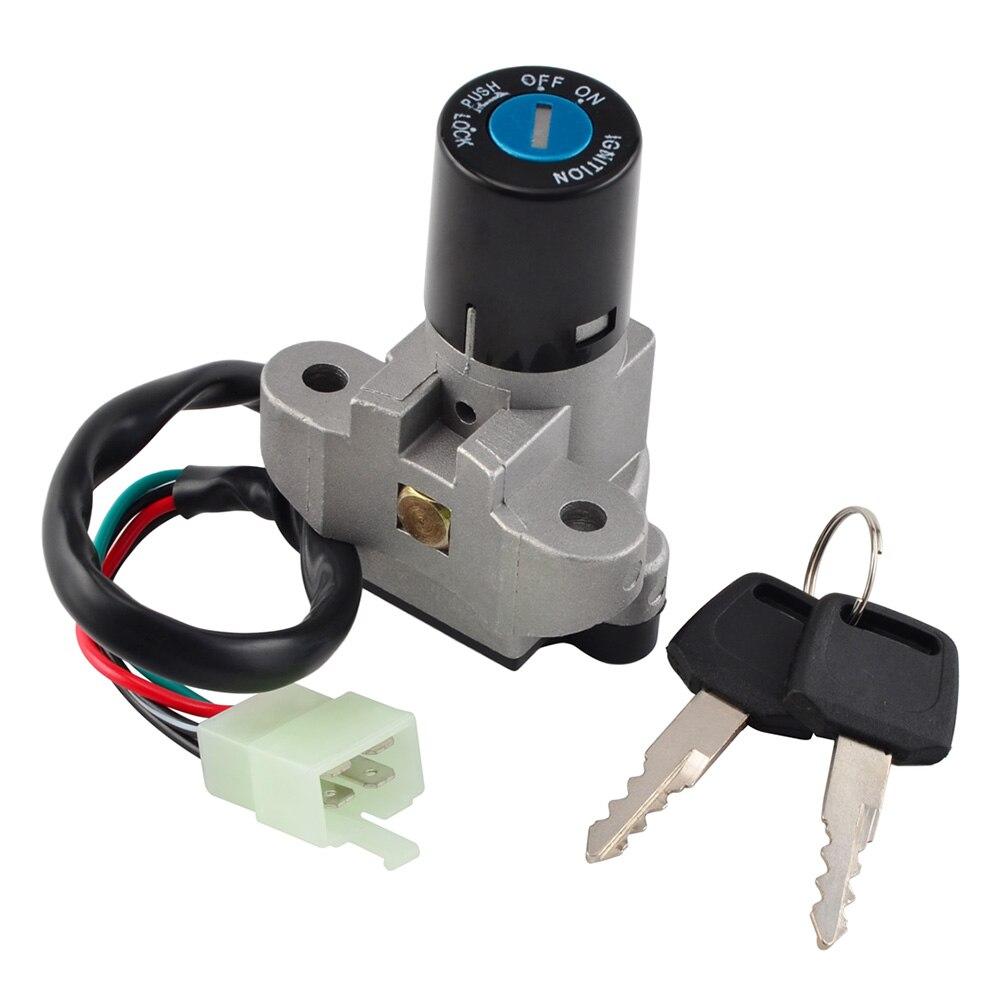 NICECNC Ignition Switch With Keys For Suzuki RF600 RF900 GS500 GSF400 Bandit 400 GSXR600 GSXR750 GSXR1000 GSX600F GSX750F