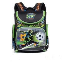 NEW 2016 Cartoon Red Racing School Bag Boys Orthopedic Backpack Children Satchel Elementary School Backpack For