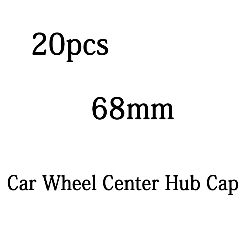 20pcs 68mm 10 pin Auto Car Wheel Center Hub caps Rim Caps Covers <font><b>Logo</b></font> Badge <font><b>Emblem</b></font> For <font><b>BMW</b></font> E46 E39 E90 <font><b>F10</b></font> F20 X3 X5 M3 M5 image
