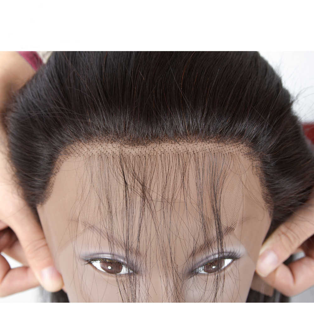 Sapphire Hair Ear to Ear Lace Frontal Closure 13X4 Free Part With Baby Hair Brazilian Straight Human Hair Non Remy Hair
