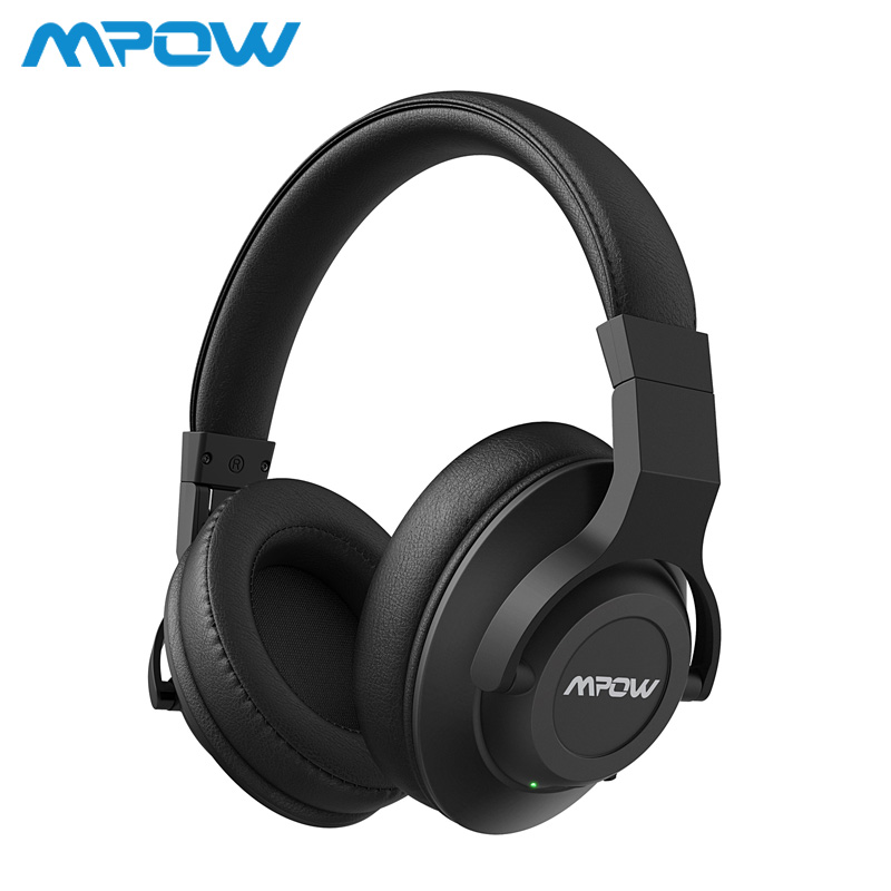 Mpow H12 Active Noise Cancelling Bluetooth Headphones ANC Wireless Wired 2 in 1 Headset With Mic For PC TV MP3 MP4 iPhone Huawei купить в Москве 2019