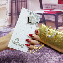 XINGDUO Handmade Bling Diamond Rhinestone PU Leather Filp Cover Wallet Case For Samsung S10 Lite S8 S9 S7edge S6 Plus Note 8 9