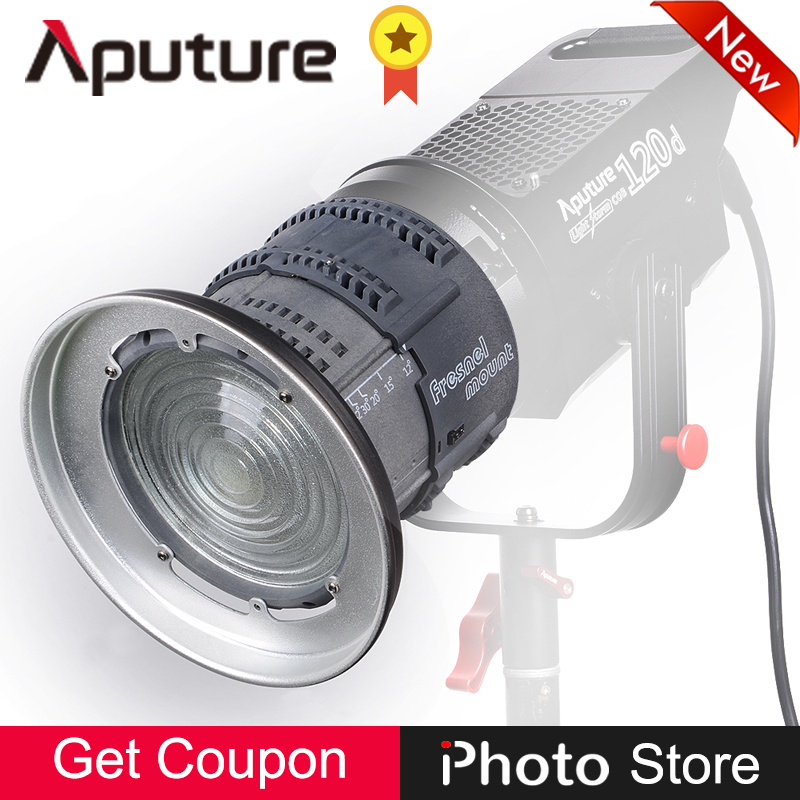 Aputure Fresnel Bowens Mount Multi-Functional Adjustable Lens Light Shaping Tool Softbox Diffuser Photography Lighting Accessory doumoo 330 330 mm long focal length 2000 mm fresnel lens for solar energy collection plastic optical fresnel lens pmma material