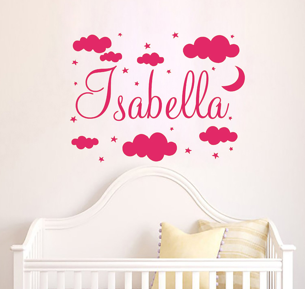 Explore Star Wars Themed Nursery Decals wall sticker Personalised NAME boys girl