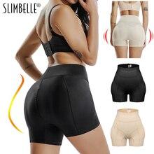נשים גבוהה מותן Shaper מרים התחת תחתוני Enhancer מרופד בקרת תחתוני Boyshort תחתוני מזויף התחת ישבן ירך מכנסיים תחתונים