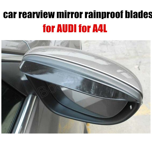 For AUDI For AL Pair Car Rearview Mirror Rain Barrier - Barrier audi