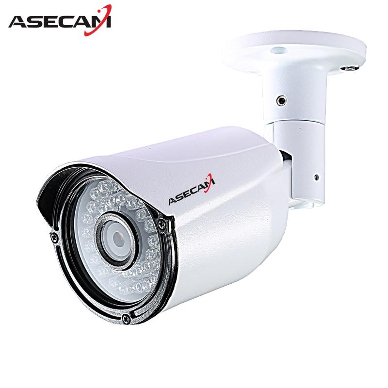 ASECAM Sélections de Qualité IP Caméra 1080 P H.265 CCTV infrarouge Bullet Extérieure Imperméable à l'eau en Onvif Cam de Sécurité Surveillance p2p