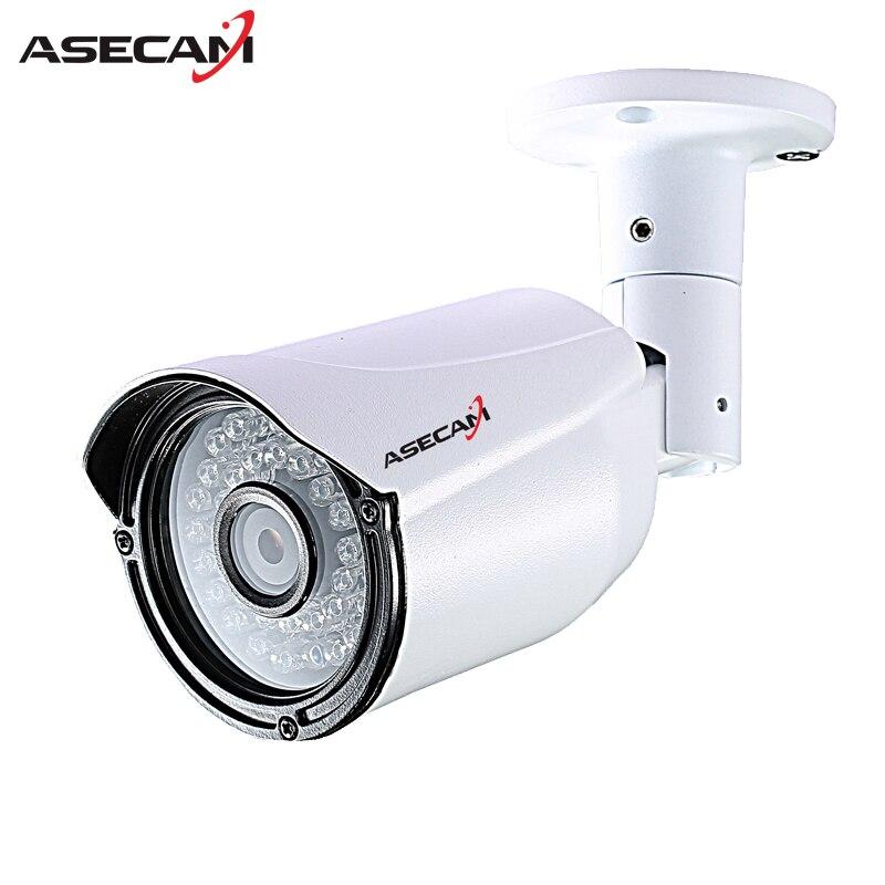 Asecam качество выбирает IP Камера 1080 P H.265 инфракрасного CCTV пуля из металла Водонепроницаемый Открытый ONVIF Cam видеонаблюдения P2P