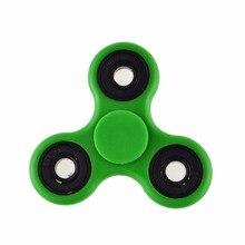 5ชิ้นสีเขียวTri-s Pinnerอยู่ไม่สุขของเล่นพลาสติกEDCมือเซรามิกปินเนอร์สำหรับออทิสติกและสมาธิสั้นอยู่ไม่สุขปั่นมืออาชีพ
