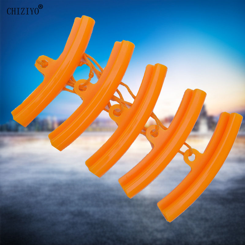 CHIZIYO 5pcs Tire Changer Tool Guard Rim Protector Wheel Changing Rim Edge Tyre Wheel Protection Rubber Sleeve