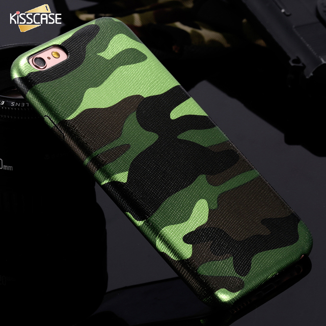 Camouflage Soft Case For iPhone