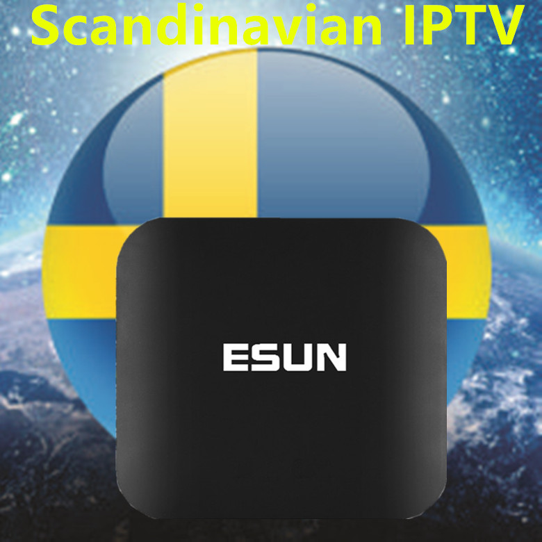 2017 New Arrival ESUNTV FREE IPTV Android TV Box 2/16G Europe/Sweden/French/Germany/Italy/XXX 4000+ Scandinavian channels image