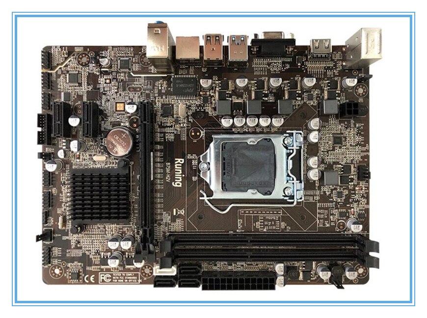 new Motherboard LGA 1155 B75 Desktop Computer Mainboard DDR3 B75 Desktop motherborad