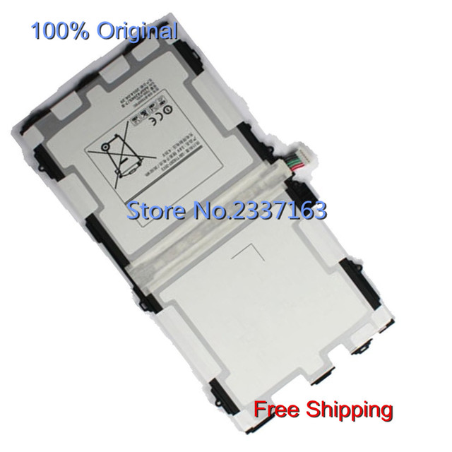 IECWANX 100% new  Laptop Battery  EB-BT800FBU (3.8V 7900mAh) for  Samsung Galaxy TAB S 10.5 LTE SM-T800 SM-T801 SM-T805 SM-T807
