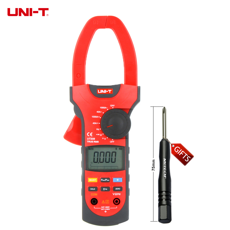 UNI-T UT209 True RMS 4000 Count Digital Clamp Multimeters W/ Analogue Bar Graph & Peak Max/Peak Min Mode clearaudio professional analogue toolkit