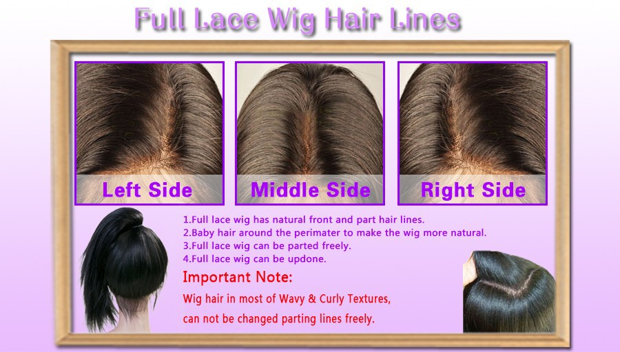 full lace hair line