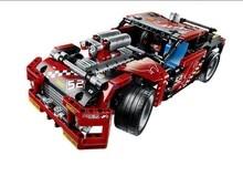 608pcs Race Truck Car 2 In 1 Transformable Model Building Block Sets Decool 3360 DIY Toys Compatible With Legoe Technic