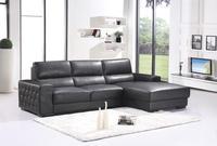 Estilo moderno sofá de couro genuíno sofá móveis da sala