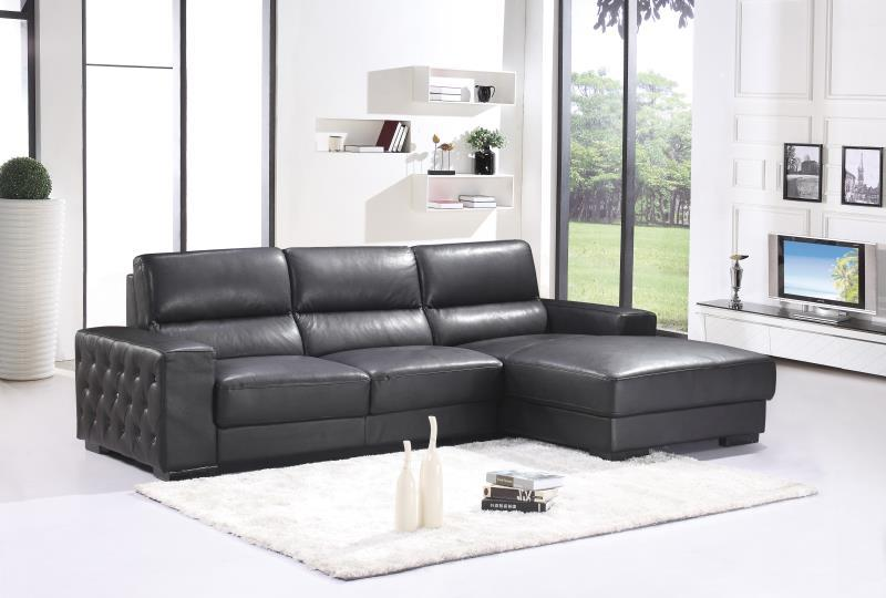 US $712.5 5% OFF|Modern style sectional sofa top Genuine leather sofa  living room furniture-in Living Room Sofas from Furniture on AliExpress