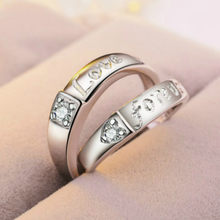 2019 New 1pcs sell New Design Zircon Engagement Rings for Women Rose Gold Color Wedding Rings Female(China)