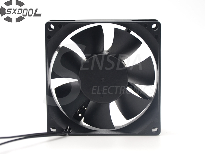 SXDOOL <font><b>Brushless</b></font> ec aial fan <font><b>motor</b></font> ec fans 80*80*25mm 80mm 8cm <font><b>AC</b></font> Dual Voltage 115V 230V 50/60Hz 6W 3000RPM 36.5CFM customized image