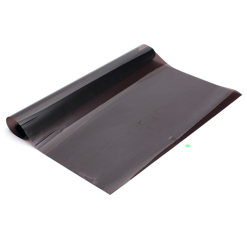 Excellent Useful 50cm X 7m 15% Limo Black Car Auto Van Window Glass Tint Film Mirror Tinting Decorative Films House Office