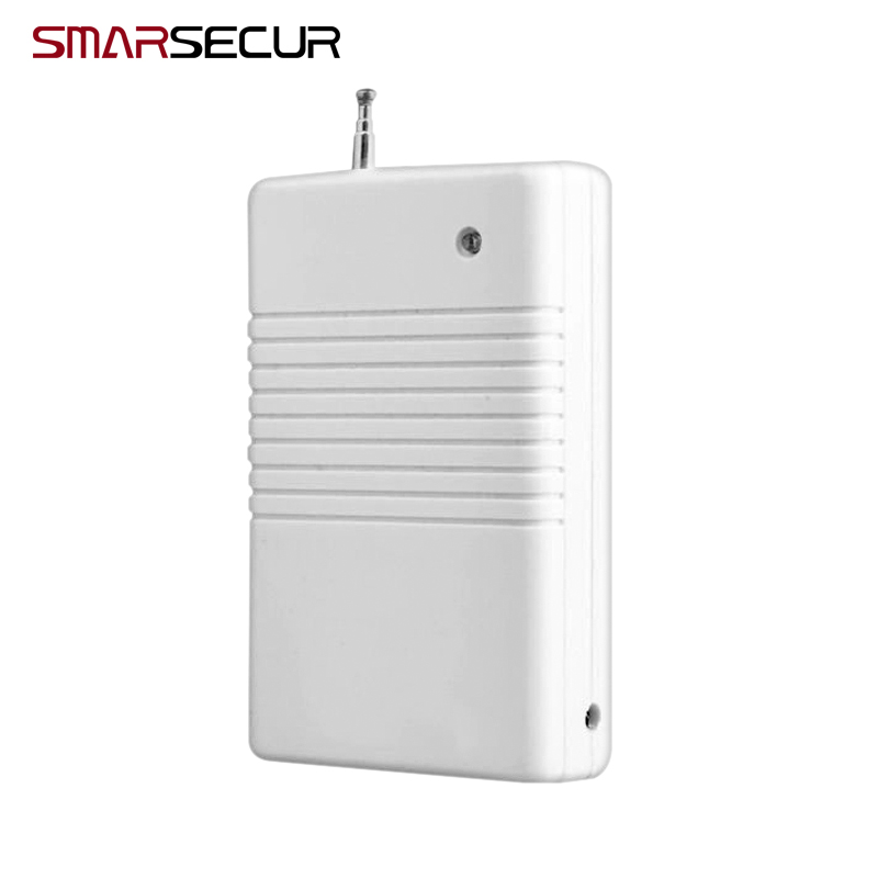 Smarsecur Wireless Signal Repeater RT-100 For 433Mhz For 433Mhz Alarm System H6 G90B Plus S4 S3B