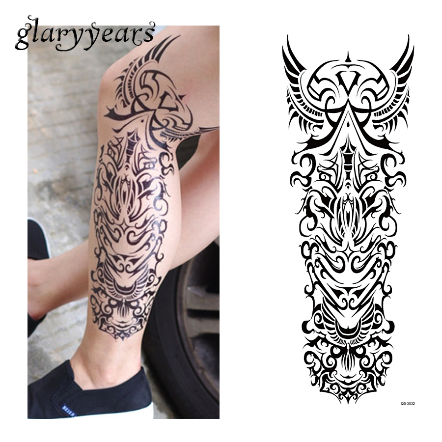 1 Piece Temporary Tattoo Sticker Water Transfer Wing