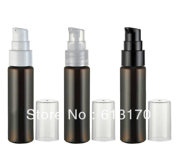 30 Ml Kosong Pet Botol Kecil Portabel Tekan Pompa Lotion Emulsi