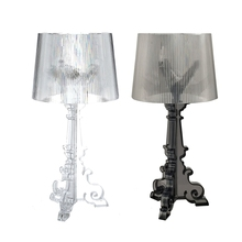 GZMJ Ghost Led Table Lamp Lustre Bedside Table Lamps Bedroom Modern Desk  Lamp Acrylic Lampshade Table