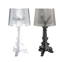 Bedside Table Lamps For Bedroom Modern Desk Lamp For Living Room Acrylic Lampshade Table Luminarias E27