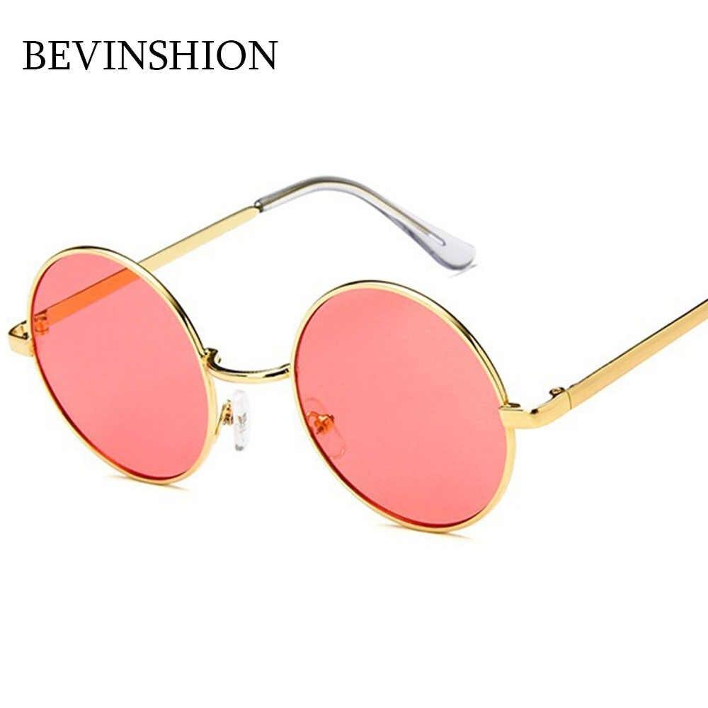 20c62ec87d ... 2018 New Round Sunglasses Men Cool Hip-Hop Style Korean Vintage Couple  Women Sun Glasses ...