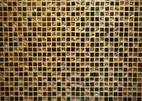 Gold Wall Mosaic Tiles Texture Photography Backgrounds Vinyl cloth High quality Computer printed wedding backdrop