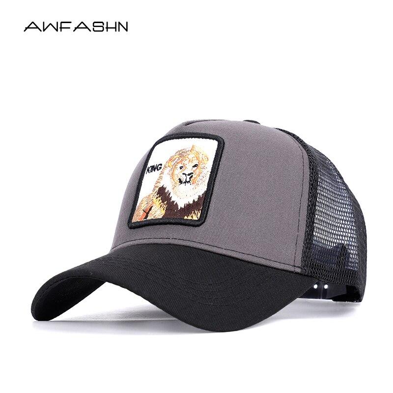 2019 new snapback trucker mesh   cap   women   baseball     cap   men women casquette gorras planas King snapback   caps   hats for free ship
